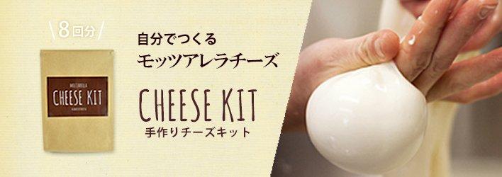 手作りチーズキット
