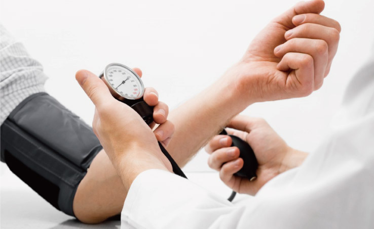 ウコンによる血圧を下げる作用