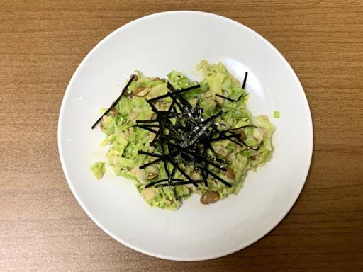 納豆サラダ