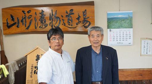 横尾昭男さんと丹野秀雄さん