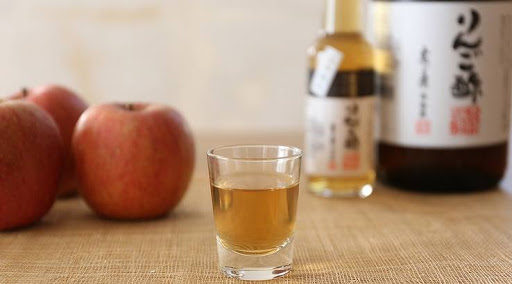 リンゴ酢の完成