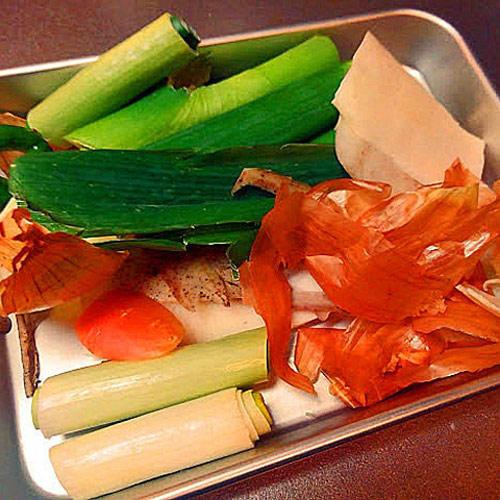 vegetable scraps dashi