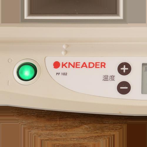 シンプルな操作ボタン