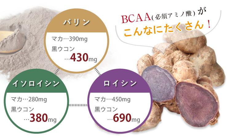 高濃度 黒ウコン BCAA