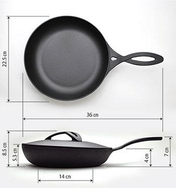南部鉄器オーブンパンサイズ