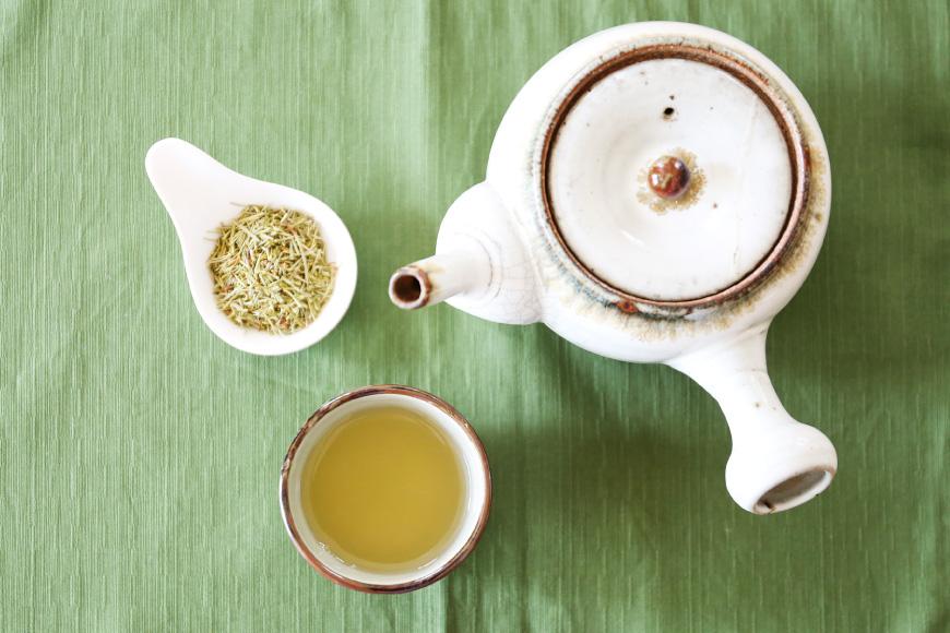 茶葉とお茶フカン
