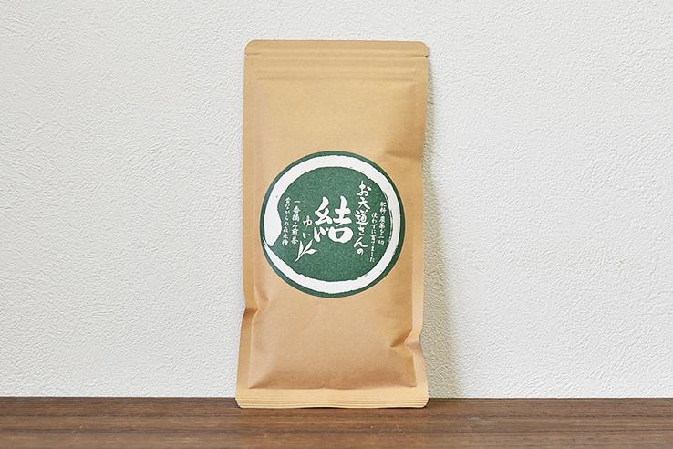 昔ながらの煎茶「結」80g