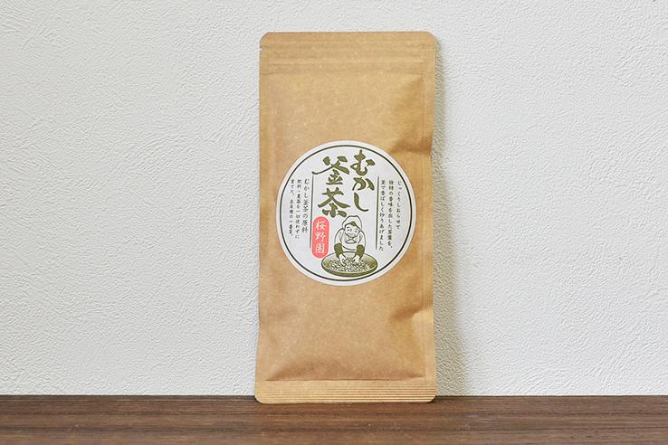 釜炒り茶「むかし釜茶」50g