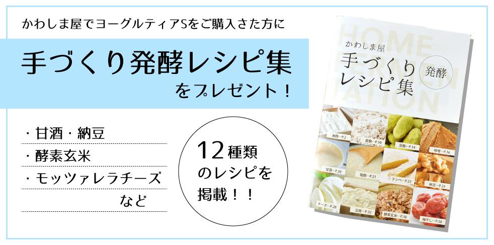 「手作りレシピ集」をプレゼント!