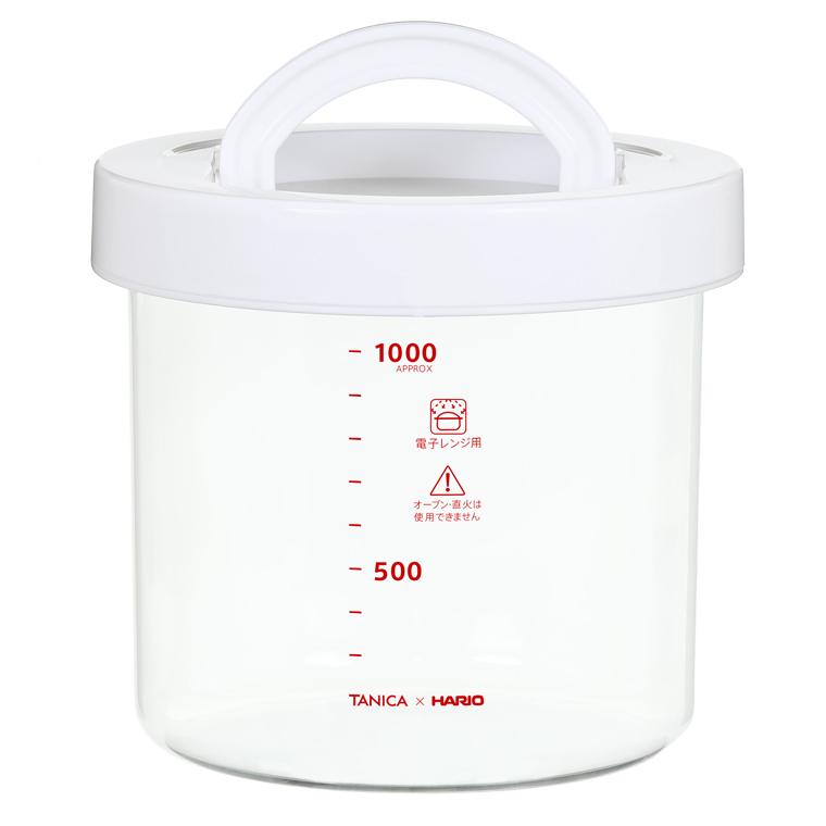 耐熱ガラスポット(タニカ ヨーグルティアS付属品)