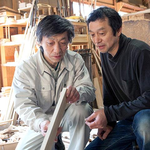 伝統的工芸品加茂桐箪笥の老舗