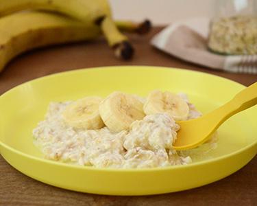オートミールバナナ粥