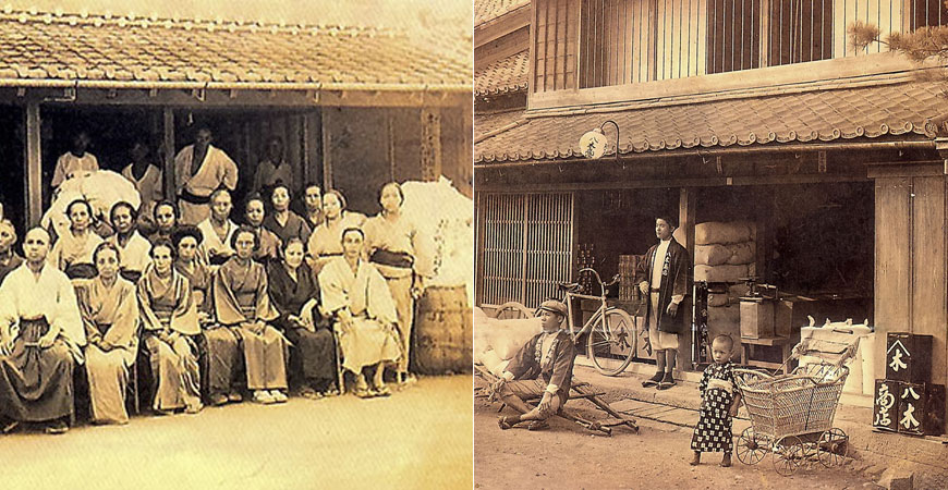 明治28年創業の老舗茶屋