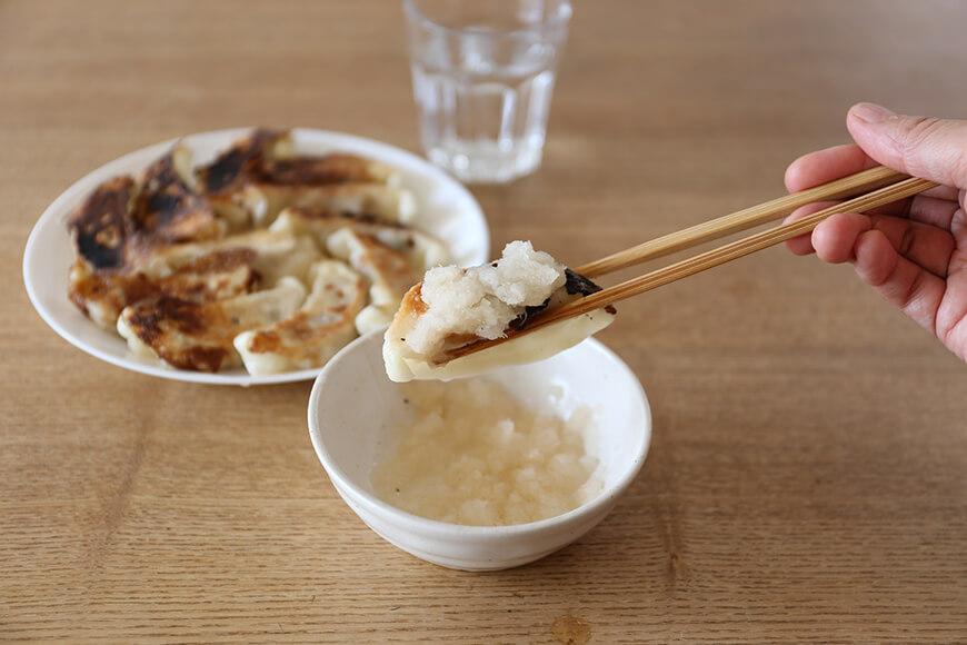 餃子の梅酢ダレ