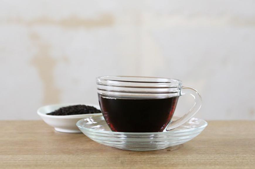 How to Drink Hot Dark Roast Brown Rice Tea