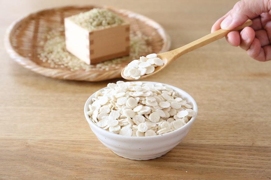 玄米オートミールの特徴