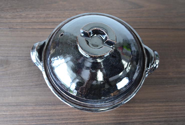 東屋の飯炊き釜三合炊き