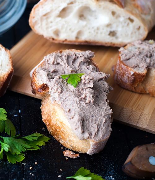 Black Garlic Tuna Pate