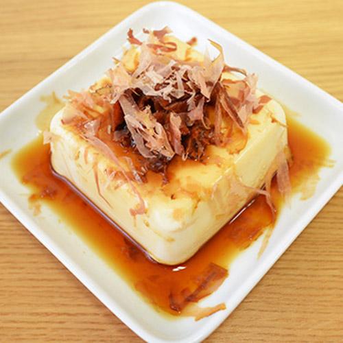 Cold Tofu with Umeboshi