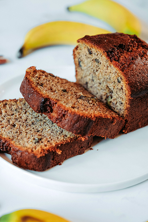 Vegan Buckwheat Banana Bread