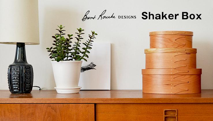 BRENT ROURKE|Shaker Box