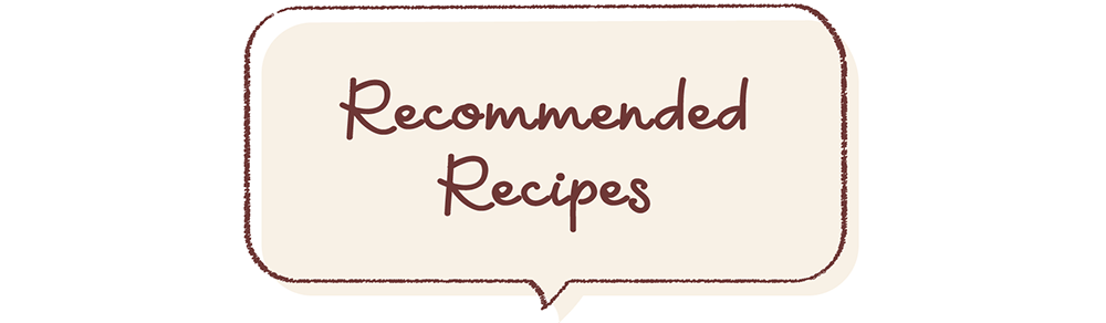 Recommended recipes