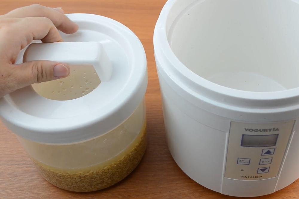 brown rice amazake recipe genmai koji 2.1