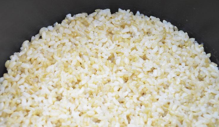 緑米のおいしい炊き方