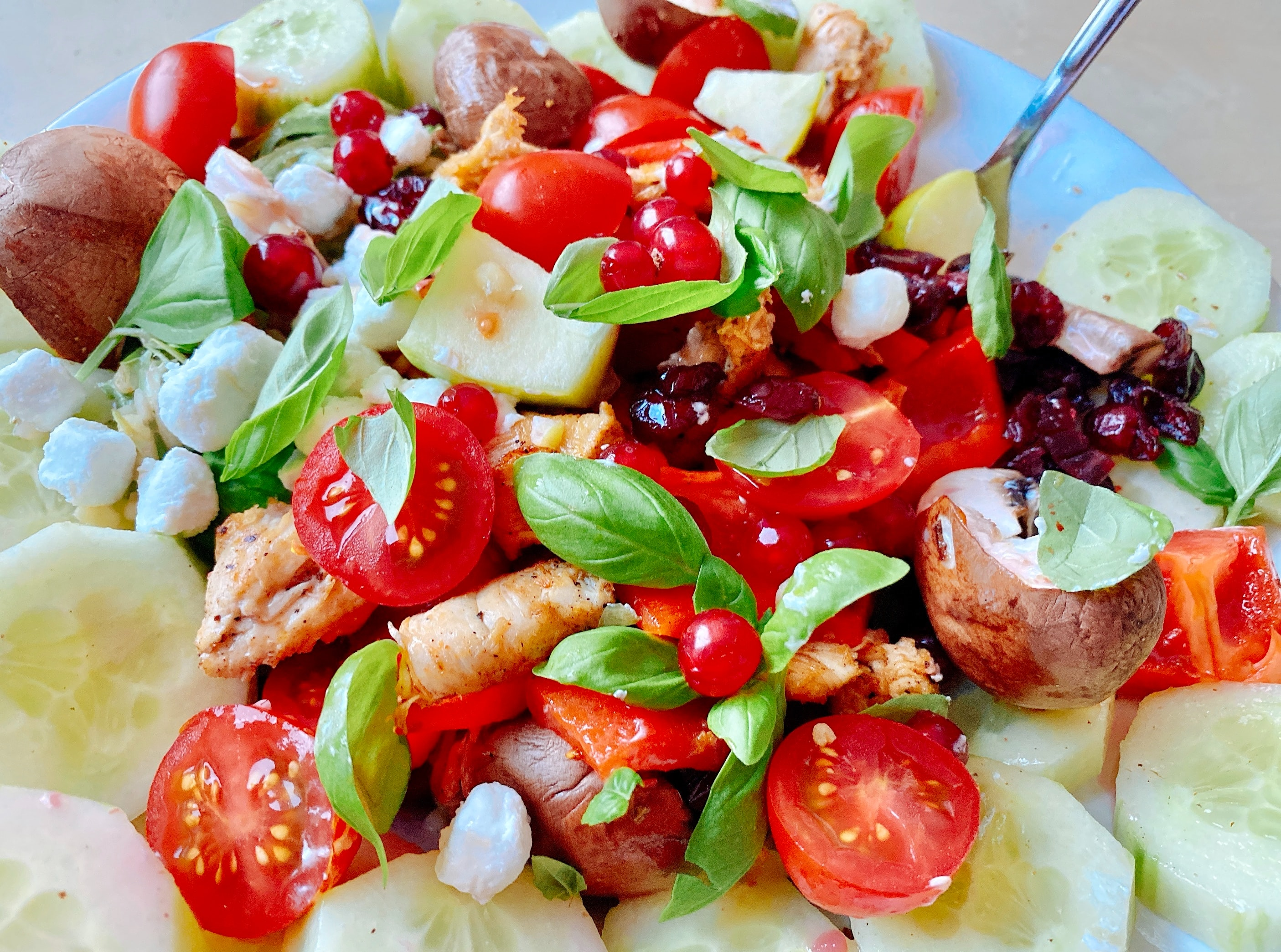 小豆サラダ
