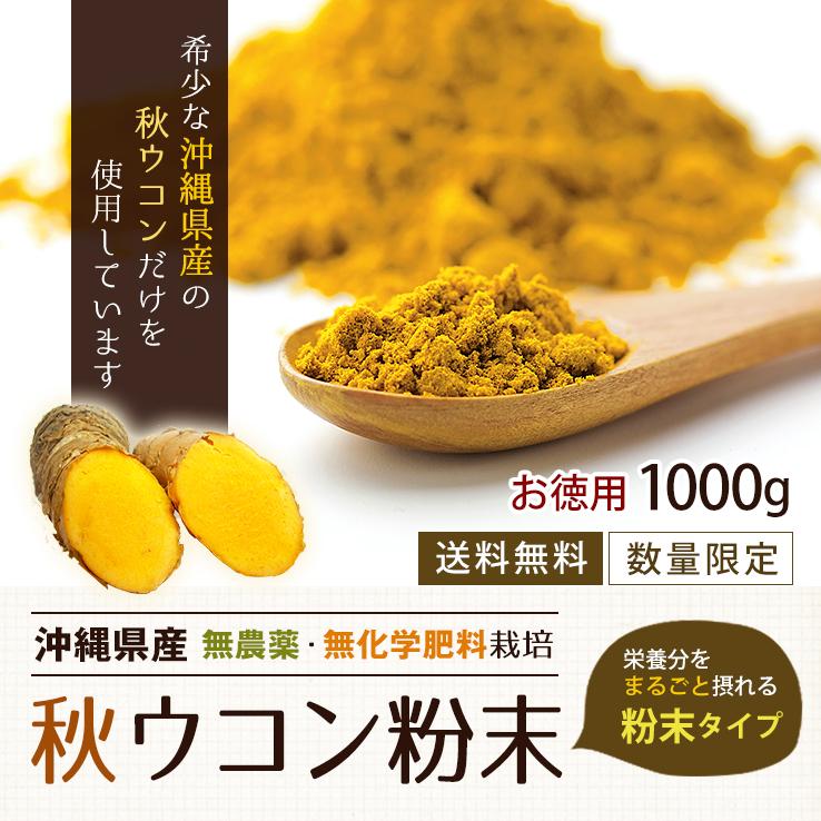 秋ウコン粉末