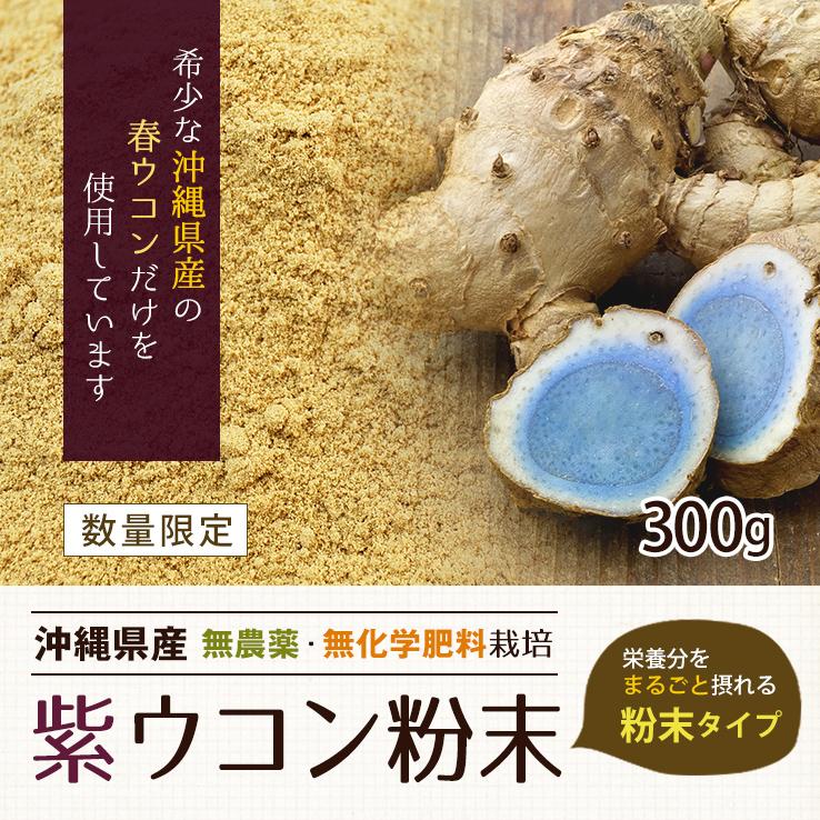紫ウコン粉末