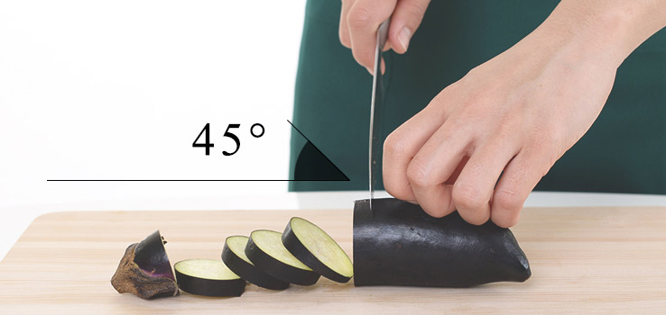 Cutting Board, How to Hold the Knife and Distance with the Ingredients