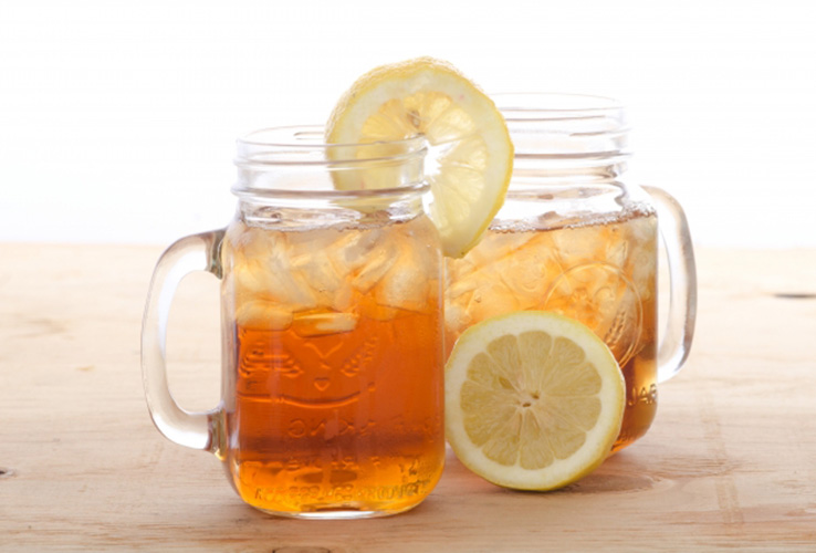 もろみ酢のレモン割り