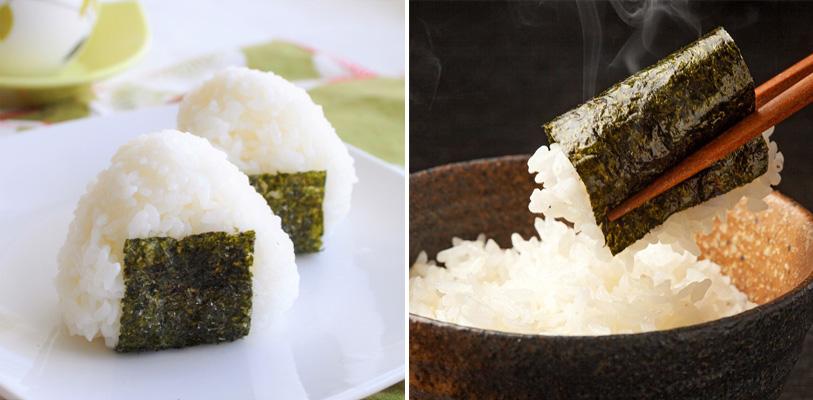 nori rice onigiri