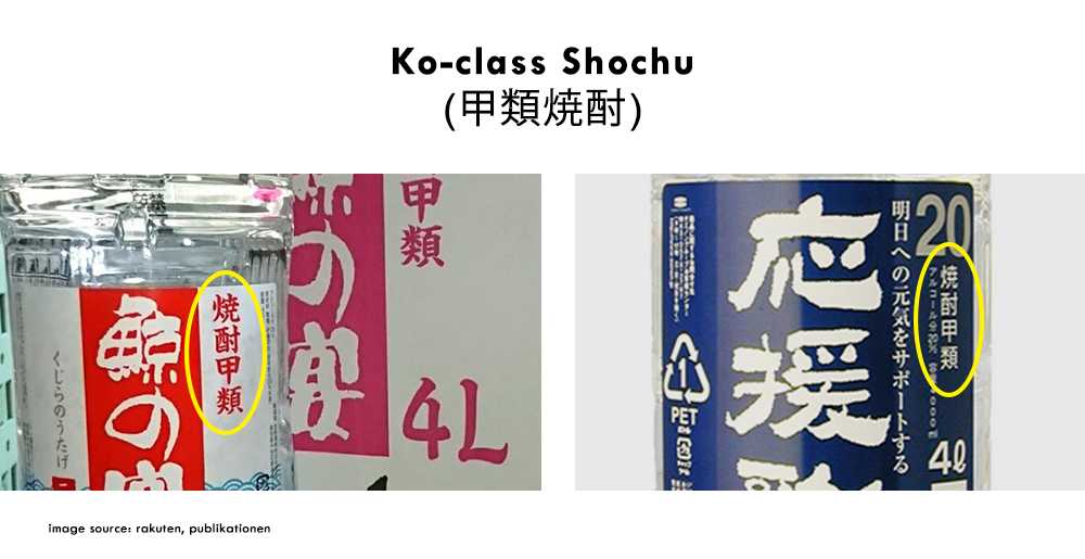 Ko-class Shochu