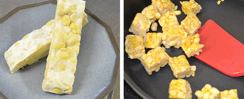 raw vs cooked tempeh