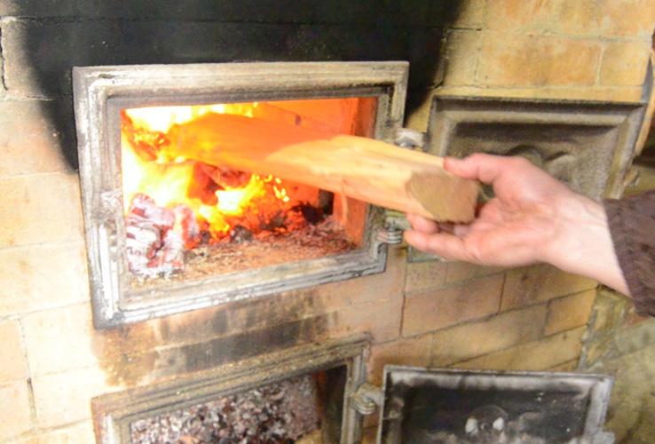 薪火で焙煎
