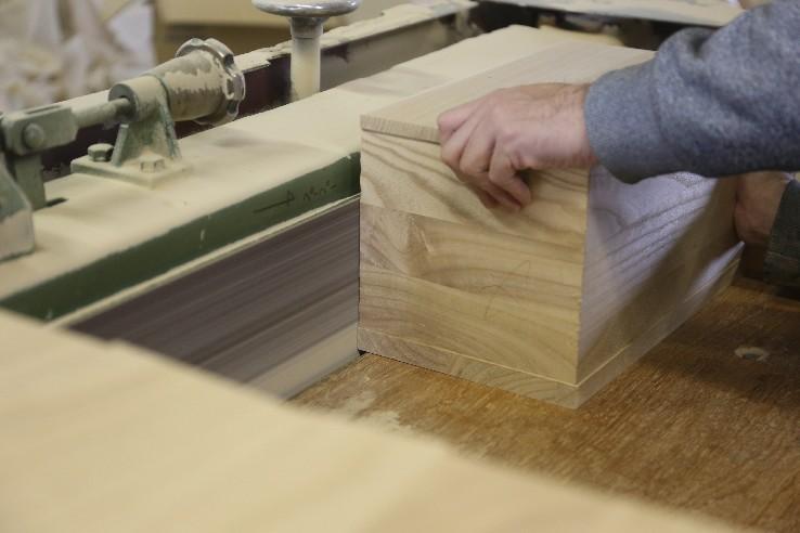 Paulownia wood chest drawer