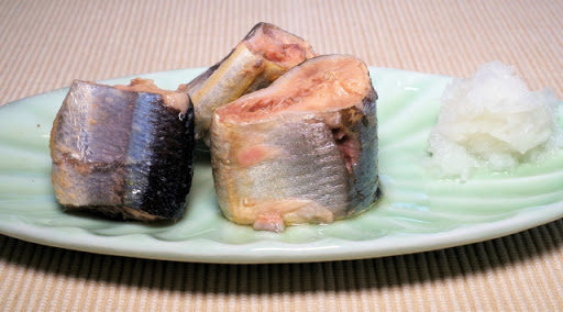 サンマのさっぱり梅酢煮