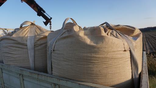 500kg程度の豆