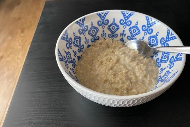 ハニー豆乳オーバーナイトオーツ