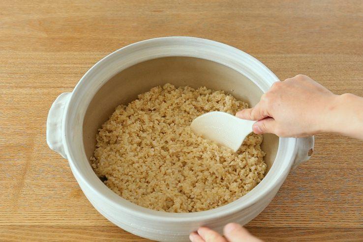 玄米を土鍋で炊く方法