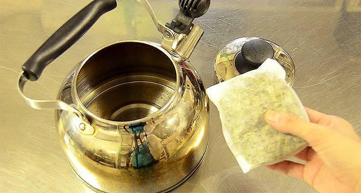 松の葉茶の淹れ方