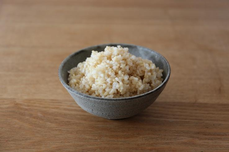 玄米と白米を混ぜる炊き方