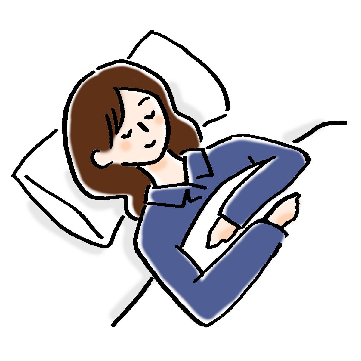リラックス効果でしっかり安眠