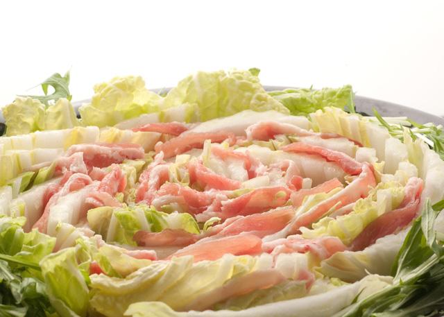 野菜と豚肉の重ね蒸し
